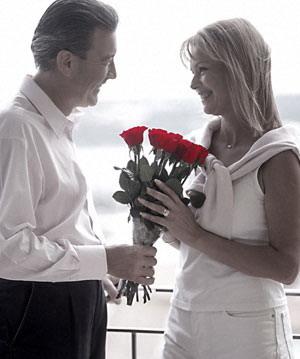 Cách tặng hoa hồng trong ngày valentine
