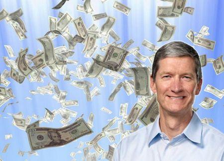 Tổng giá trị của Apple đạt mốc 500 tỉ USD