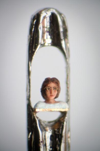 Tác phẩm điêu khắc nhỏ nhất thế giới