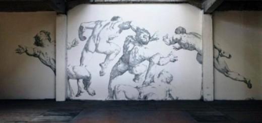 Tuyệt phẩm tranh từ 450.000 chiếc đinh ghim (1)