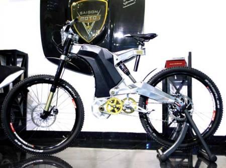 Siêu xe đạp giá 35.000 USD xuất hiện ở Việt Nam