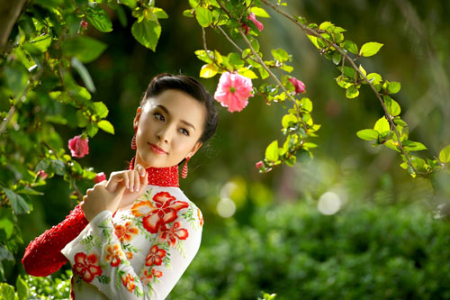 Ảnh đẹp: Áo dài - vẻ đẹp của phụ nữ Việt (2)