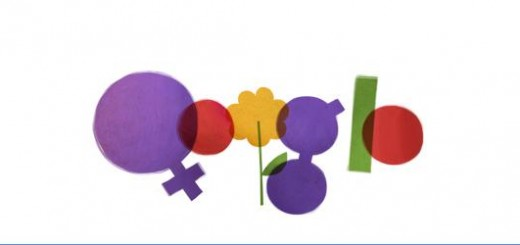 Logo Google 08 -03-2012: Chúc mừng Ngày Quốc tế Phụ Nữ