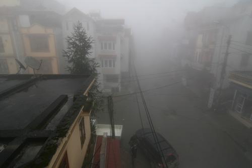 Sapa chìm đắm trong sương mù (1)