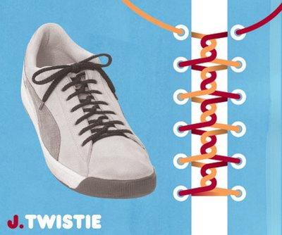 Những kiểu buộc giầy độc đáo (6)