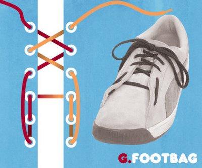 Những kiểu buộc giầy độc đáo (9)