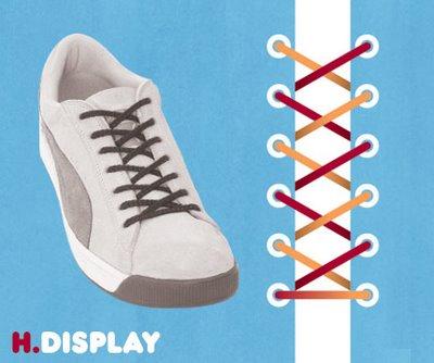 Những kiểu buộc giầy độc đáo (8)