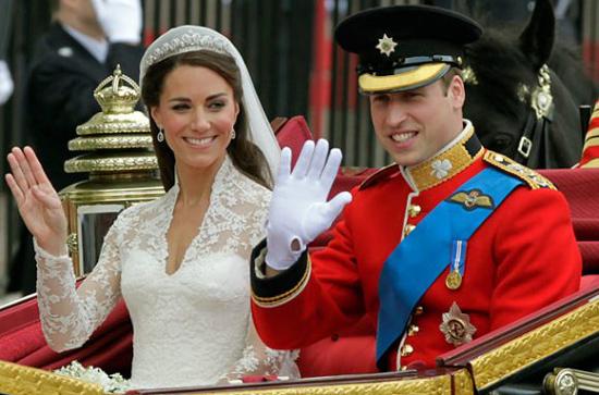 Đám cưới Hoàng tử Anh William và Kate ngày 29/4