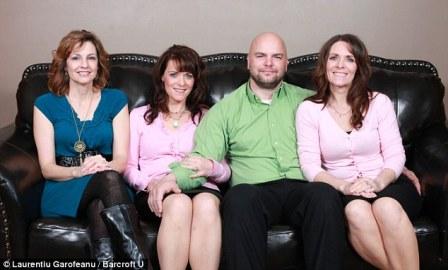 Brave bên cạnh 3 người vợ của mình