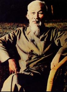 Ảnh chụp Bác Hồ tại Phủ Chủ tịch năm 1969.
