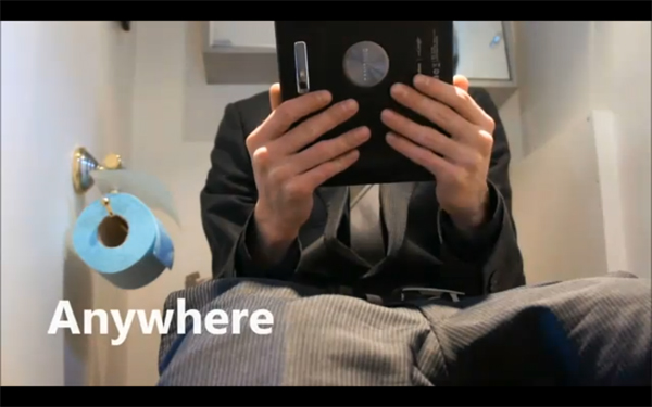 Toilet - tablet và những con số thú vị