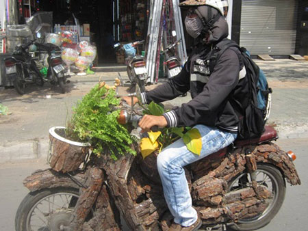 """TP. HCM: xuất hiện xe máy """"độc"""" (2)"""