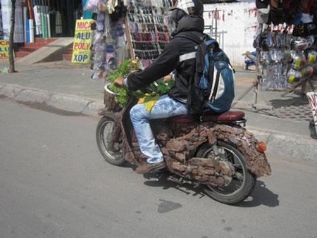 """TP. HCM: xuất hiện xe máy """"độc"""" (1)"""