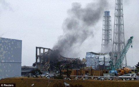 Lò phản ứng số 3 của nhà máy điện hạt nhân Fukushima bị nóng chảy do thảm họa động đất và sóng thần vào tháng 3/2011