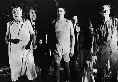 """Một cảnh về các """"thây ma sống"""" trong bộ phim kinh dị """"Night of the Living Dead"""" (Đêm của người chết sống dậy) năm 1968 của đạo diễn Mỹ George Romero. Ảnh: Wikimedia"""