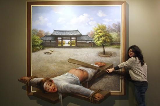 Thích thú với bảo tàng đánh lừa thị giác (2)