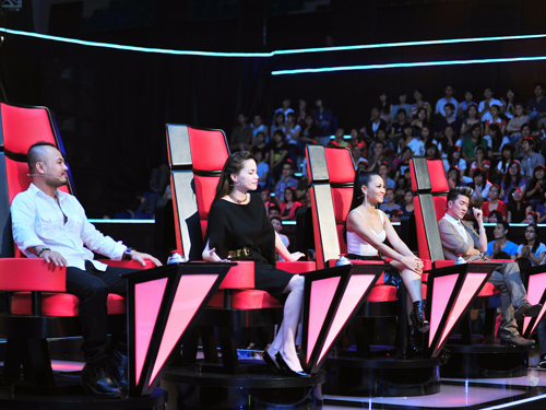 Ghế xoay của huấn luyện viên trong chương trình the Voice