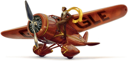 Logo Google hôm nay để kỷ niệm sinh nhật lần thử 115 của Amelia Earhart