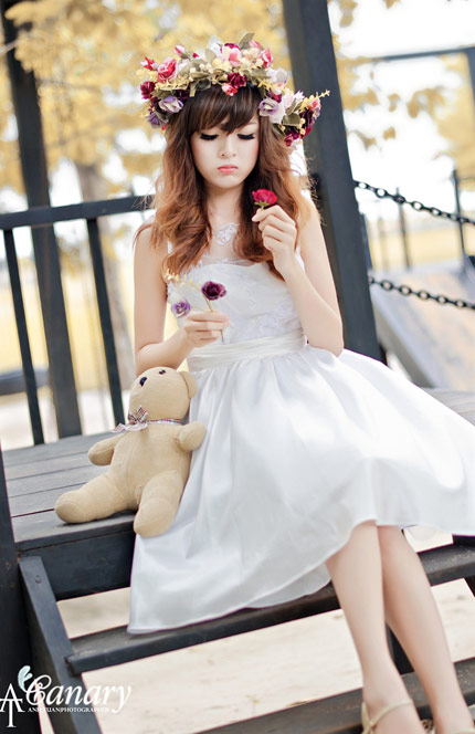 Nguyễn Thị Lượm - Thiếu nữ Việt xinh đẹp như búp bê (8)