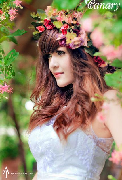 Nguyễn Thị Lượm - Thiếu nữ Việt xinh đẹp như búp bê (7)
