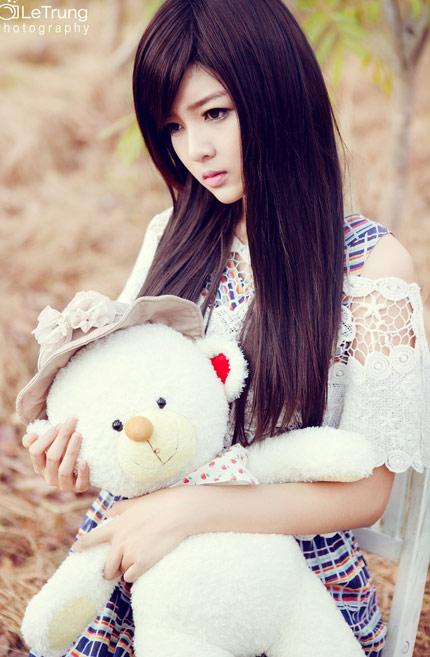 Nguyễn Thị Lượm - Thiếu nữ Việt xinh đẹp như búp bê (3)