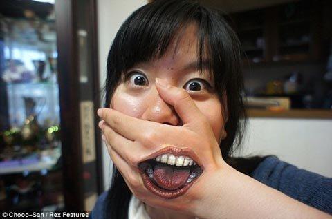 Nghệ thuật vẽ trên cơ thể cực đỉnh của nữ sinh Nhật Bản (7)