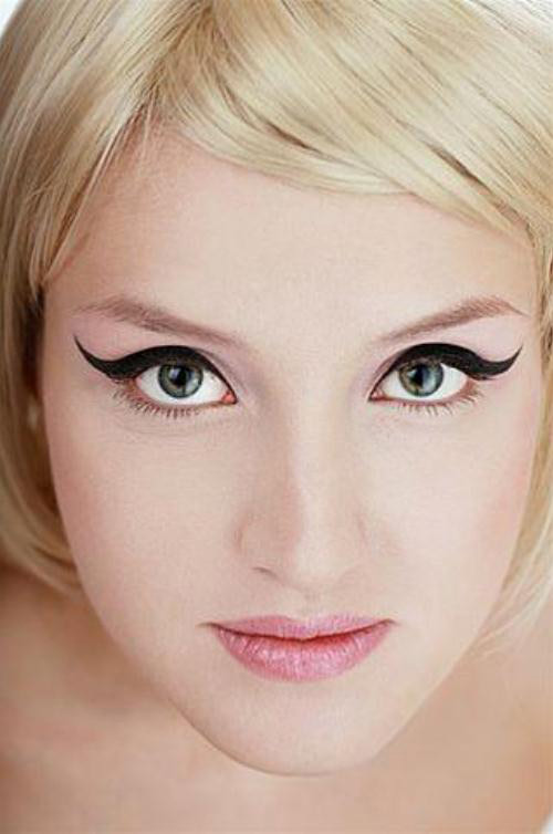 Mắt to sáng mà không cần mascara   Trang điểm làm đẹp