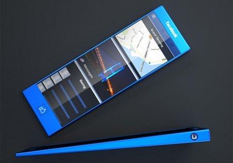 Độc đáo ý tưởng thiết kế điện thoại Facebook