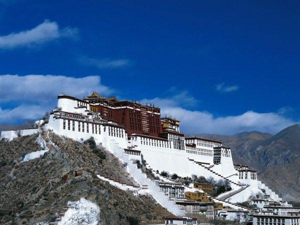 Cung điện Potala, Tây Tạng