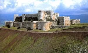 Tòa lâu đài hoàn hảo nhất nằm trên đỉnh đồi Crusader