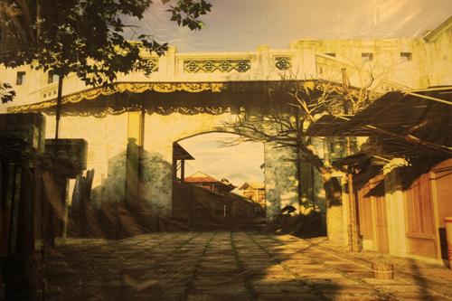 Những cửa ô trong nắng vàng