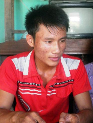 Ngô Văn Thuận đã đạp xe 300 km từ Nghệ An ra Hà Nội thi đại học với 30.000 đồng trong túi. Ảnh: Đức Chung.