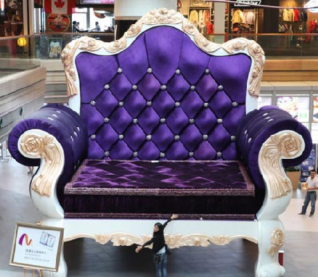 Chiếc ghế bành lớn nhất ở Thượng Hải (3)