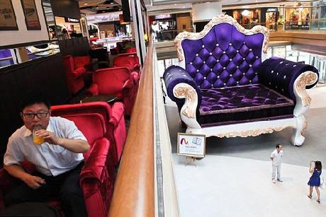 Chiếc ghế bành lớn nhất ở Thượng Hải (1)