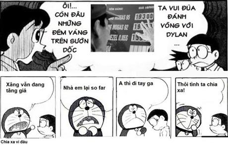 Doraemon chế: lại tăng giá xăng rồi bà con ơi (3)