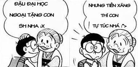 Doraemon chế: lại tăng giá xăng rồi bà con ơi (2)