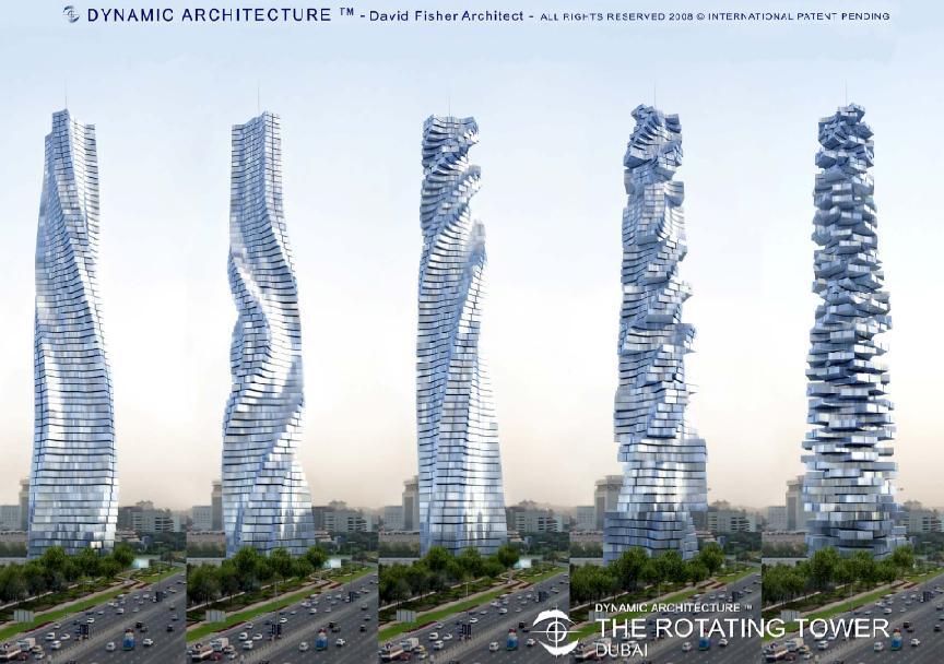 Tháp xoay có một không hai tại Dubai