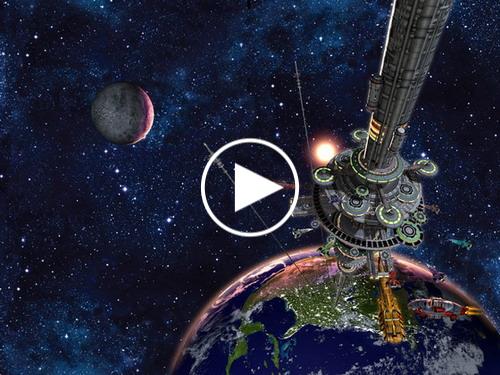 Dự án thang máy lên mặt trăng