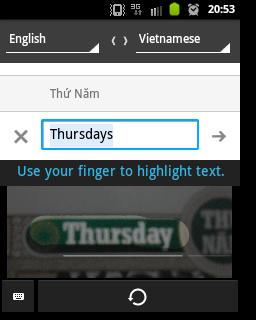 Google Translate mới được các thành viên TinhTe thử nghiệm và đánh giá khá tốt
