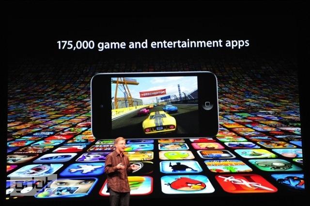 Tiếp theo là iPod Touch mới, chiếc máy nghe nhạc và chơi game tốt nhất thế giới.