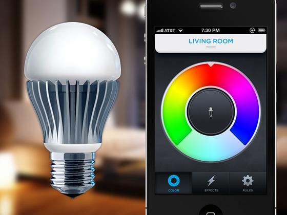 Bóng đèn thông minh của Phil Bosua - Ảnh: Kickstarter