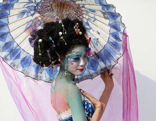 Những tác phẩm độc đáo tại lễ hội 'Body painting quốc tế' (1)