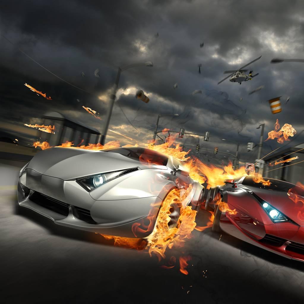 Những hình ảnh siêu xe rực lửa này mang tính nghệ thuật nhưng cũng làm cho chúng ta thấy sự mãnh mẽ, tốc độ đến \