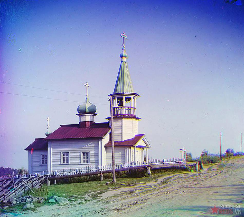 Nhà thờ làng Shaidoma, 1915.