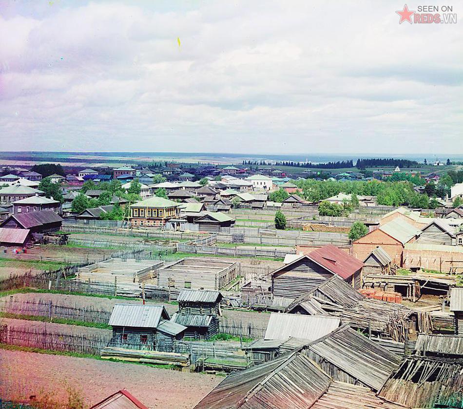Một thành phố ở Cherdyn, 1910.