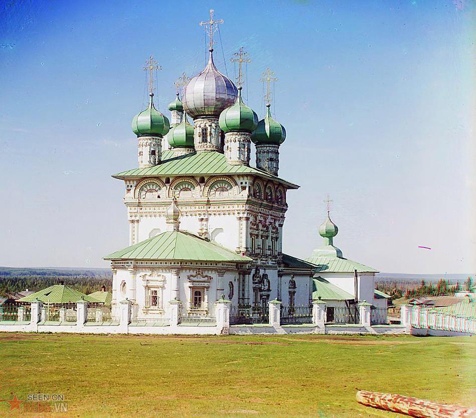 Nhà thờ thánh Nicholas ở Nyrob, 1910.