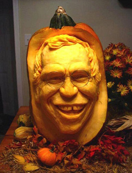 """""""Choáng"""" với những tác phẩm điêu khắc bí ngô đón lễ hội Halloween (4)"""