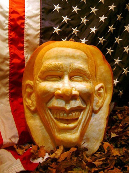 """""""Choáng"""" với những tác phẩm điêu khắc bí ngô đón lễ hội Halloween (12)"""