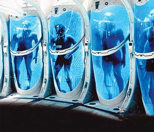 Đến nay, vẫn chưa rõ đây là chuyện chỉ có trong khoa học viễn tưởng hay thật sự là một phương pháp giúp con người bất tử - Ảnh: chanarchive.org