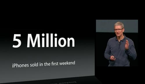 Những con số Apple: 5 triệu máy iPod touch 5th, 200 triệu máy iOS 6..